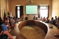 A Bagè la missione italiana conquista l'attenzione dei media locali