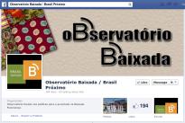O Observatório das politicas sociais da Baixada Fluminense contado através da sua pagina no Facebook